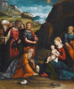 Adoration of the Magi | Il Garofalo | Oil Painting