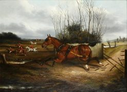 The Runaway | James Clark | Oil Painting