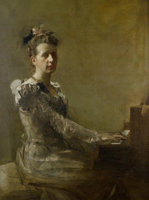 Miss Isabella H. Gardiner   James Guthrie   Oil Painting