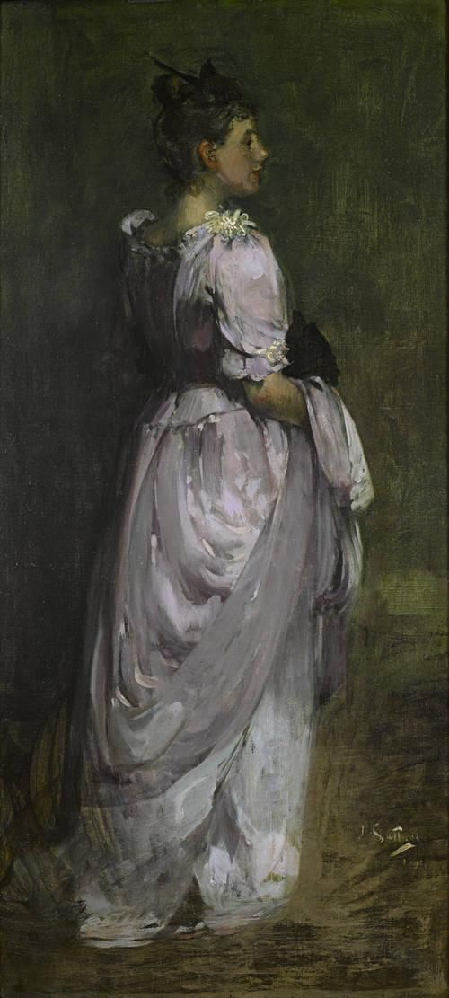 Miss Anne Spencer | James Guthrie | Oil Painting