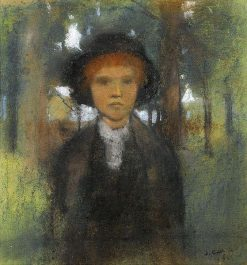 A Young Lady | James Guthrie | Oil Painting