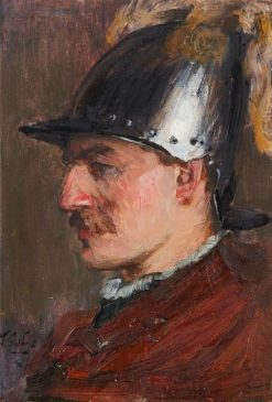 Head of a Soldier | James Guthrie | Oil Painting