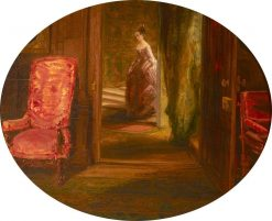 The Brown Gallery at Knole | James Holland | Oil Painting