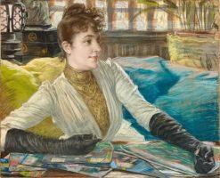 Portrait de Mathilde Sée | James Tissot | Oil Painting