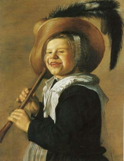 Girl with a Flute | Jan Miense Molenaer | Oil Painting