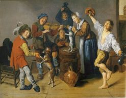Children Playing and Merrymaking | Jan Miense Molenaer | Oil Painting