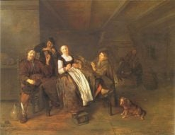 A Merry Company | Jan Miense Molenaer | Oil Painting