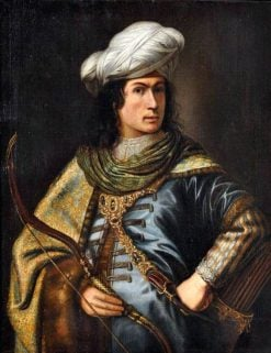 Portrait of a Man as a Turkish Prince | Jan Victors | Oil Painting