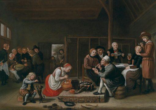 Tavern Scene | Jan Victors | Oil Painting
