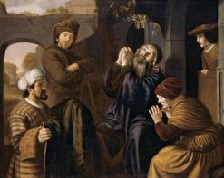 Jacob being Shown Joseph's Robe | Jan Victors | Oil Painting