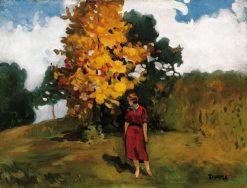 Autumn in Baia-Mare   Janos Thorma   Oil Painting