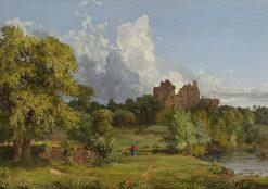 Doune Castle | Jasper Francis Cropsey | Oil Painting
