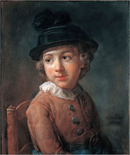 Portrait of a Boy | Jean Baptiste Simeon Chardin | Oil Painting