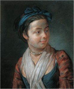Portrait of a Young Girl | Jean Baptiste Simeon Chardin | Oil Painting