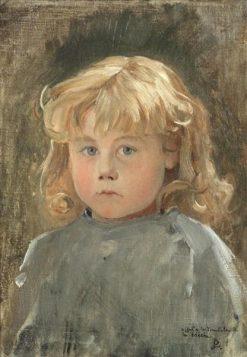 Portrait of a Child | Jean Paul Laurens | Oil Painting