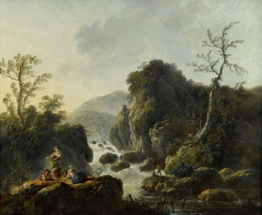 Mountain Torrent | Jean Pillement | Oil Painting