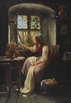 Expectation | Johann Georg Meyer von Bremen | Oil Painting