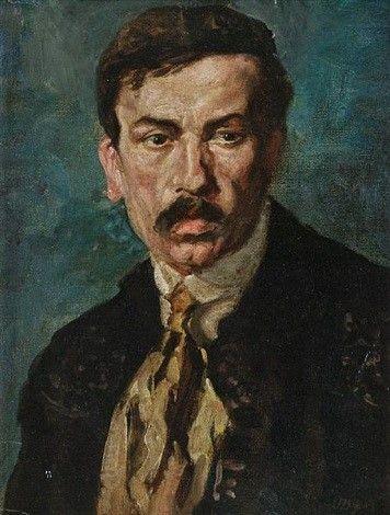 Portrat of a Man   John Butler Yeats   Oil Painting