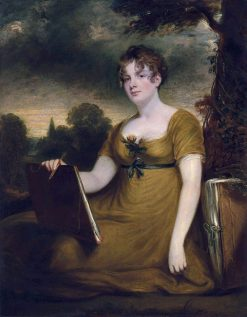 Portrait of Lady Arundel of Wardour (Mary Anne Nugent-Temple-Granville) | John Hoppner | Oil Painting