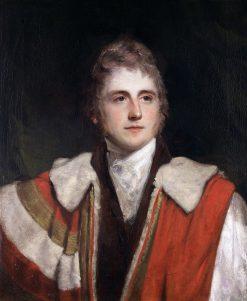Portrait of Peter Leopold Nassau Cowper