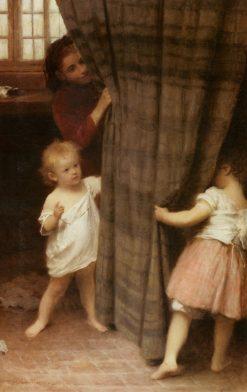 Hide and Seek | John Morgan | Oil Painting