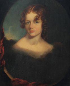 Portrait of Magaretta Falconer Biddle   John Neagle   Oil Painting