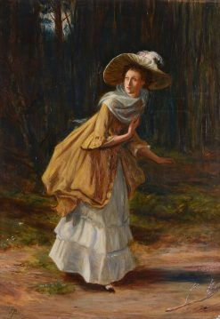 A Young Lady | John Pettie