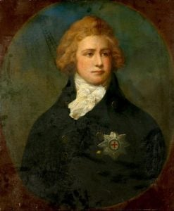 Portrait of George IV (1762-1830) | John Russell | Oil Painting