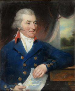 Portrait of Captain John Deffell   John Russell   Oil Painting
