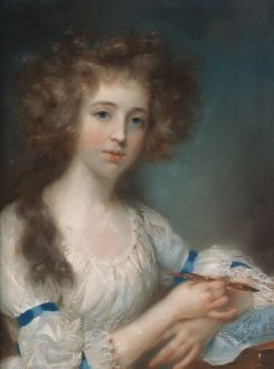 Portrait of a Lady | John Russell | Oil Painting