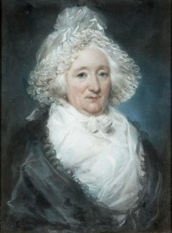 Portrait of an Elderly Lady   John Russell   Oil Painting