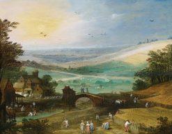 Summer Landscape | Joos de Momper the Younger | Oil Painting