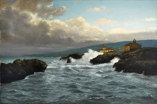 Mexican Coast   Joseph Kleitsch   Oil Painting
