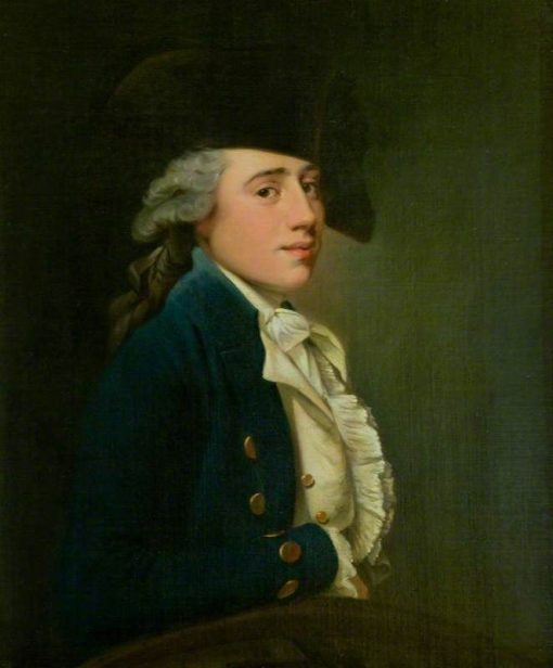 Captain Edward Salmon | Joseph Wright of Derby | Oil Painting