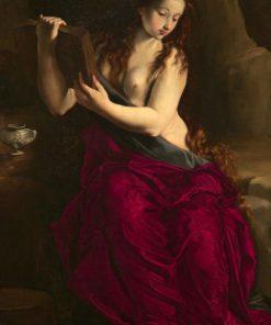Saint Mary Magdalen in Penitence | Juan Bautista Maino | Oil Painting