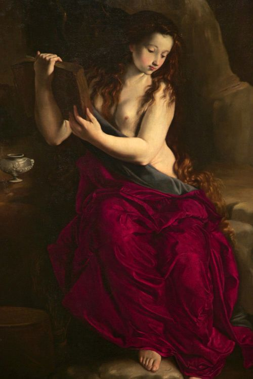 Saint Mary Magdalen in Penitence | Juan Bautista Maino | Oil Painting