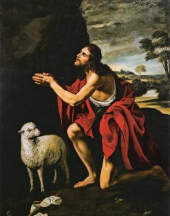 John the Baptist at Prayer | Juan van der Hamen | Oil Painting