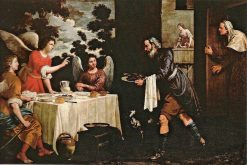 Abraham and the Three Leeches | Juan van der Hamen | Oil Painting