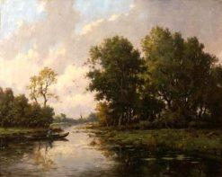 Un paysage a Barbizon | Jules Coignet | Oil Painting