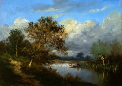 A Quiet Afternoon | Jules DuprE | Oil Painting