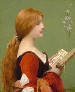 Jeanne la Rousse(also known as Jeanne the Redhead) | Jules Joseph Lefebvre | Oil Painting