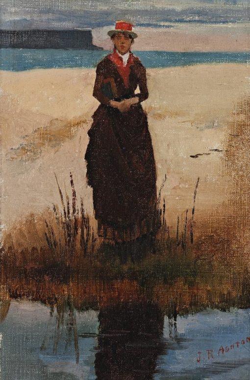 Eliza Ashton   Julian Rossi Ashton   Oil Painting