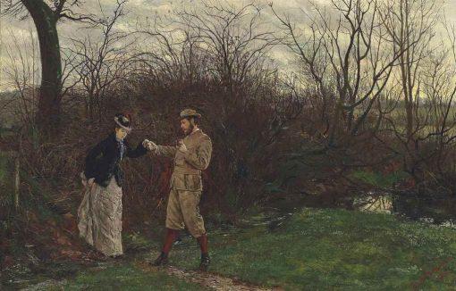 The Short Cut | Julian Rossi Ashton | Oil Painting