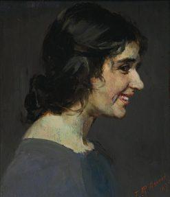 The Smile | Julian Rossi Ashton | Oil Painting