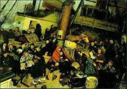 Emigrants   Knut Ekwall   Oil Painting
