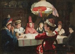 Seans   Knut Ekwall   Oil Painting