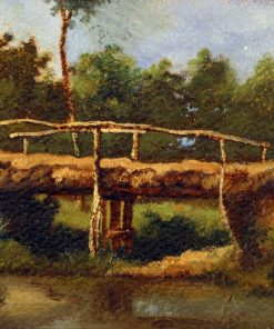 Le pont | LEon Richet | Oil Painting