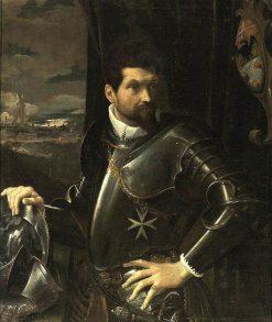 Portrait of Carlo Alberto Rati Opizzoni | Lodovico Carracci | Oil Painting