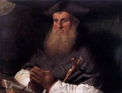 Bishop Tommaso Negri | Lorenzo Lotto | Oil Painting