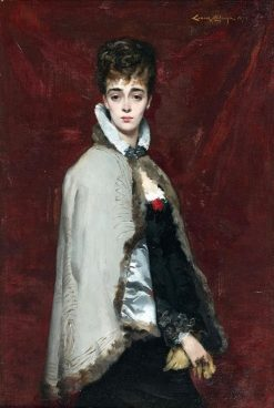 Portrait de jeune femme | Louise AbbEma | Oil Painting